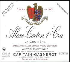 Aloxe-Corton 1er Cru La Coutiere 2012