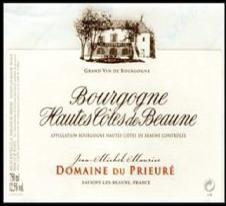 Bourgogne Hautes Cotes De Beaune 2013