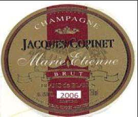 Champagne Cuvee Marie Etienne 2006 Vintage