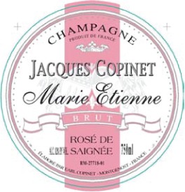 Champagne Marie Etienne Brut Rosé NV Saigneé