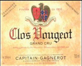 Clos Vougeot Grand Cru 2012