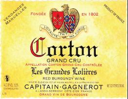 Corton Les Grandes-Lolieres Grand Cru 2012