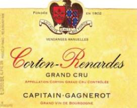 Corton Les Renardes Grand Cru 2010