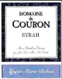Cuvee Marie Dubois