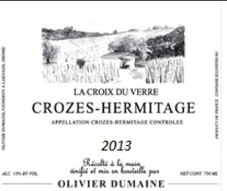 Crozes-Hermitage 2013
