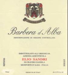 Barbera D'Alba D.O.C. 2012